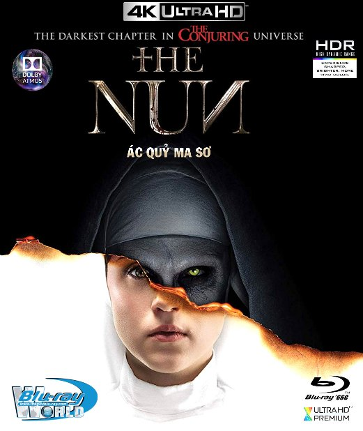 4KUHD-345. The Nun 2018 - Ác Quỷ Ma Sơ 4K-66G (TRUE- HD 7.1 DOLBY ATMOS)